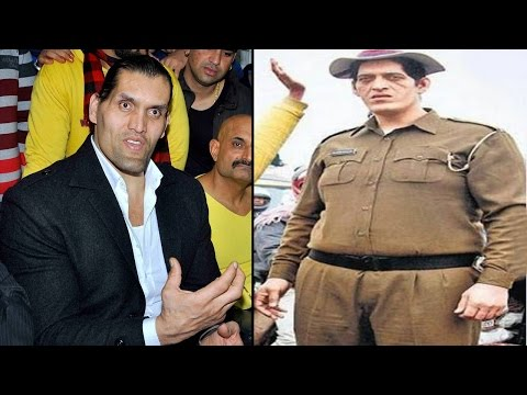 World's Tallest Policeman Rajesh Kumar 7ft 4 Inch prepares for WWE | वनइंडिया हिन्दी