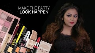 Learn How To Make Up For Party by Maybelline's Pro Artist | Party Makeup Tutorial