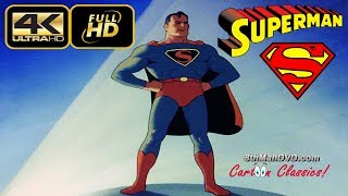 SUPERMAN CARTOON: The Mad Scientist (1941) (Remastered) [ULTRA HD 4K Cartoons]