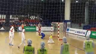 حضور تیم فوتسال بانوان ایران در روسیه
