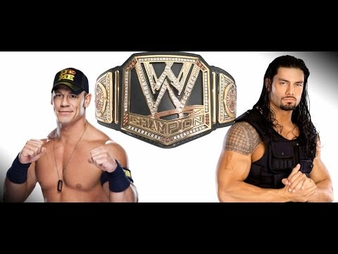 Xxx Mp4 John Cena Vs Roman Reigns WWE Championship Match Action Figure Extravaganza Match 1 3gp Sex