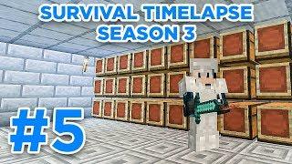 Chest Room! | Minecraft Survival Timelapse Season 3 Episode 5 | GD Venus |