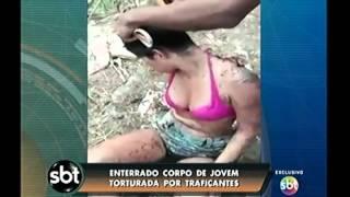 Enterrada jovem torturada por traficantes da favela Faz Quem Quer