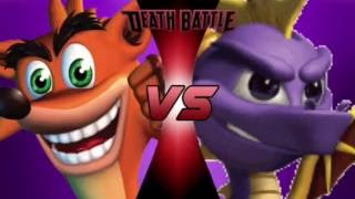 Crash VS Spyro | DEATH BATTLE! trailer