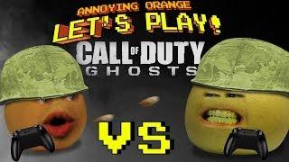 Annoying Orange Let's Play! - Call of Duty Ghosts (Orange vs Grapefruit)