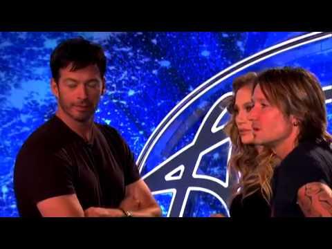 'American Idol Jennifer Lopez Slaps Contestant — Watch Video