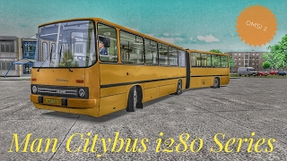 Omsi 2: Official DLC   Man Citybus i280 Series by Bustrainz