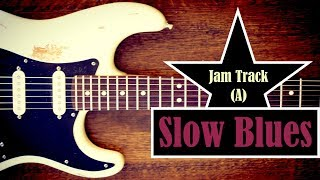Slow Blues Jam Backing Track (A) - Quist