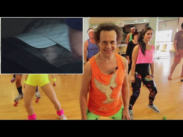 Richard Simmons Photographed For First Time In 3 Years While Leaving Hospital