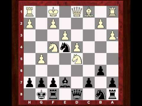 Chess World.net Game: Rook sac for Queen decoy and vicious attack! - Wells vs Pigott - Nimzo Indian