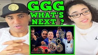 Gennady Golovkin - WHAT'S NEXT FOR GGG? (2018) REACTION   MY DAD REACTS
