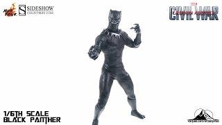 Optibotimus Reviews: Hot Toys Captain America Civil War BLACK PANTHER