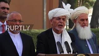 Afghanistan: President Ghani keeps his cool as blasts rock Kabul quarter