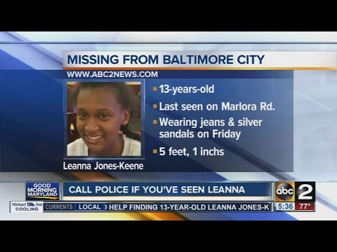 Police search for missing 13-year-old girl