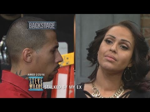 Xxx Mp4 Giselle Confronts Her Stalking Ex David The Steve Wilkos Show 3gp Sex