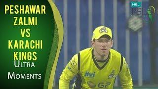 PSL 2017 Match 13: Peshawar Zalmi vs Karachi Kings - Ultra Motion Moments