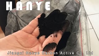 Carbon Active Powder process of fabrication