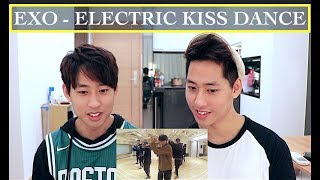 EXO ELECTRIC KISS DANCE PRACTICE REACTION  엑소