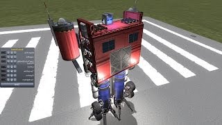 KSP : Transformers Optimus Prime
