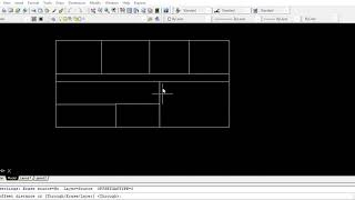 Auto Cad 2007: How to draw simple plan in Auto Cad 2007