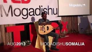 Playing the oud   Mohamed Kabanale   TEDxMogadishu