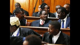 NASA leaders arrive at Supreme Court for full judgement on election petition