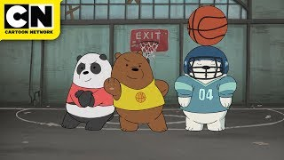 We Bare Bears | Playing for Pizza | Cartoon Network