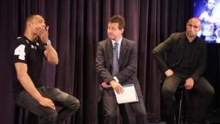 CHRIS EUBANK JR v ARTHUR ABRAHAM - FULL *UNCUT* PRESS CONFERENCE - FEAT. CHRIS EUBANK SNR