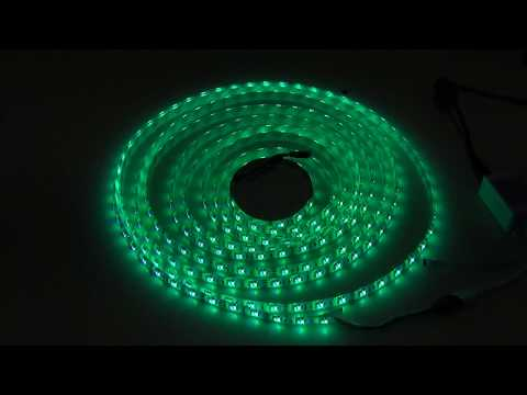 5M SMD 5050 RGB Waterproof 300 LED Strip Light 44 Key Controller 12V - Banggood.com