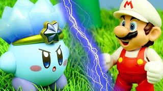 Mario vs. Kirby - Stop Motion Animation (4K)