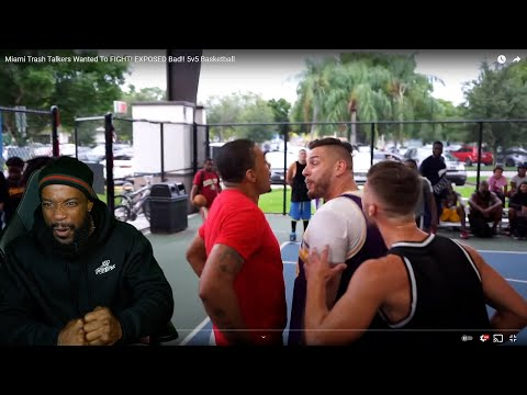IT GOT REAL Miami Trash Talkers Wanted To FIGHT EXPOSED Bad 5v5 Basketball