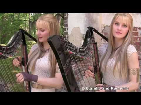 Xxx Mp4 GAME OF THRONES Theme Harp Twins Camille And Kennerly 3gp Sex