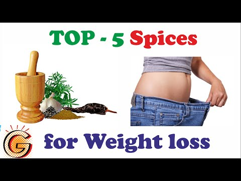 Top 5 Spices for Weight Loss
