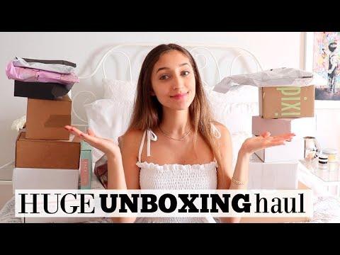 Xxx Mp4 HUGE UNBOXING HAUL PR Packages Online Shopping 3gp Sex