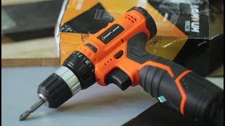 Review & Test : Raitool™ 12V Electric Drill