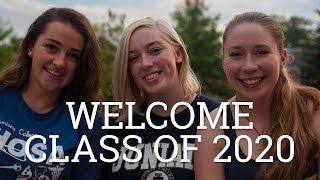 Welcome Juniata College Class of 2020