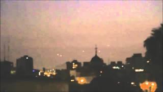 Fantástico avistamento UFO em Santiago - Chile Dez 2015