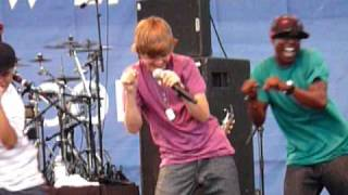 justin bieber performing One Time live
