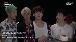 No.1 BTS CONGRATULATIONS! 방탄소년단 1위 축하!! 160512