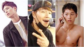 KIM JONG KOOK is SECRET TRAINER of SONG JOONG KI AND PARK BO GUM