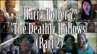 Harry Potter 7: The Deathly Hallows - Trailer 2 (Reaction Mashup) | 8K SUBS BONUS