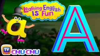 "Learning English Is Fun™ | Alphabet ""A"" 