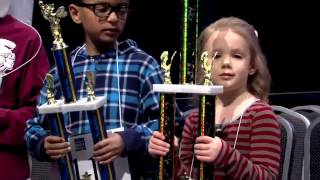 5-year-old Edith Fuller wins spelling bee in Tulsa
