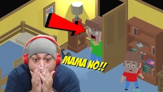 MOMS CAUGHT ME TOUCHING THE DIUGH!!! [HIDE THE P0RN] [GAMEPLAY]