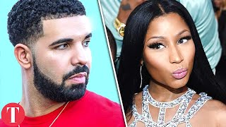 Drake Reacts To Nicki Minaj New Diss Track