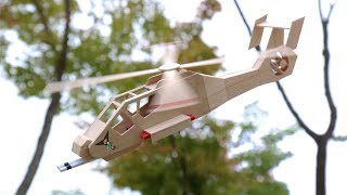 How To Make a Helicopter (RAH 66 Comanche) Popsicle Sticks