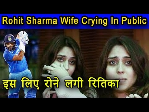 Xxx Mp4 Rohit Sharma's Wife Ritika Sajdeh Crying In Public Because Of Husbend 3gp Sex