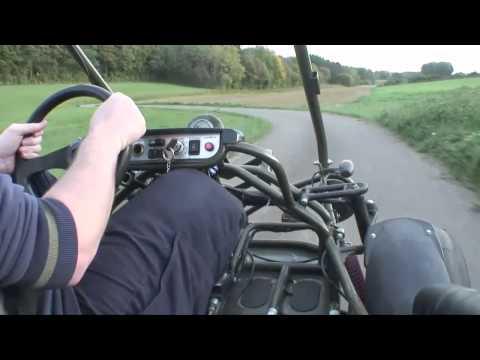 Buggy Bugxter PGO 150 Jura country ride