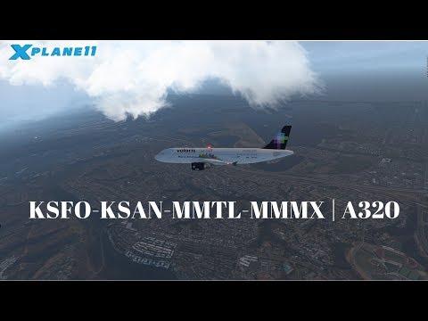 Xxx Mp4 X Plane 11 KSFO KSAN MMTL A320 VATSIM 3gp Sex