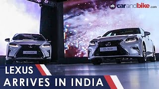 Lexus India Launch: RX 450h, ES 300h And LX 450d - NDTV CarAndBike